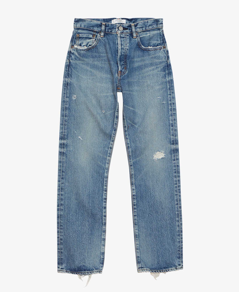 Moussy Friant Straight Boot Cut Denim