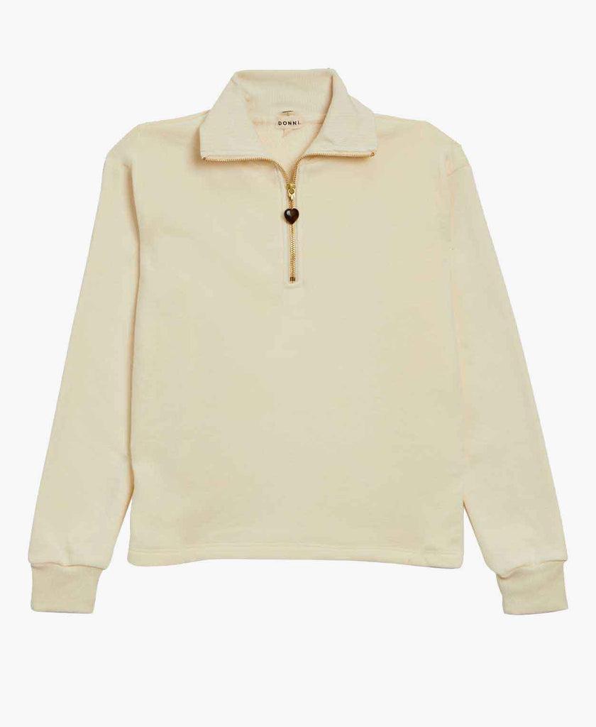 Donni Gem 1/2 Zip Sweatshirt