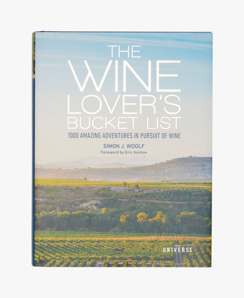 The Wine Lovers Bucket List Book