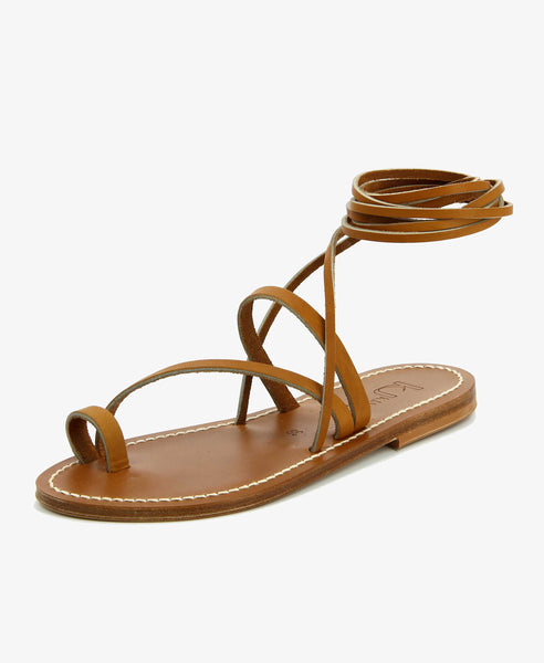 womens tie up sandal