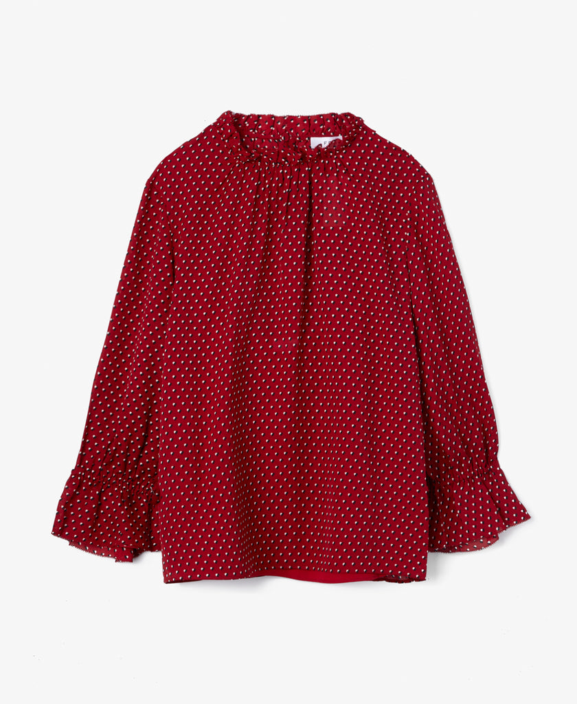 Brooke Ruffle Blouse