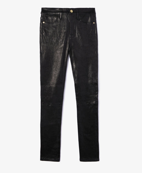 Le High Skinny Leather Pant