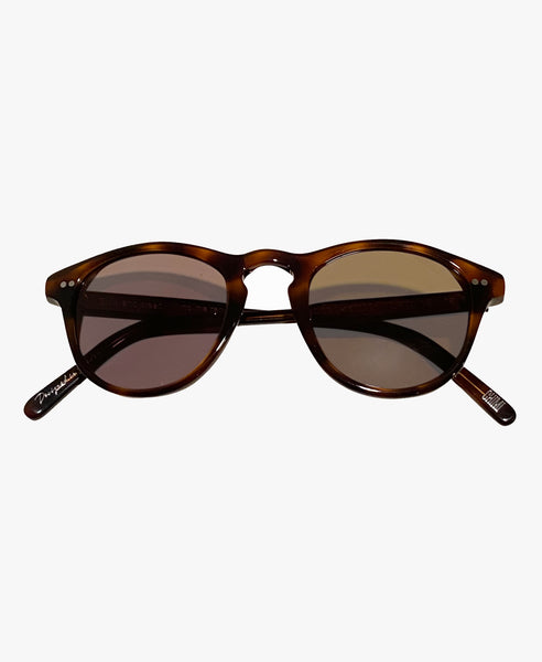 Rounded Brown Sunglasses