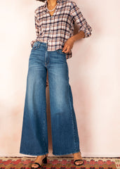 The Undercover Wide Leg Jeans