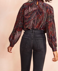 Paolo Printed Blouse