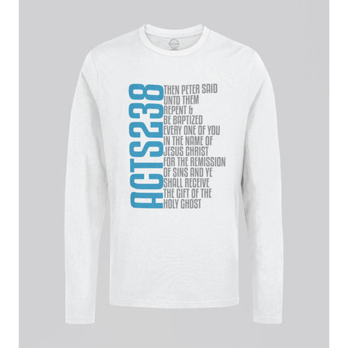 ACTS 238 VERSE LONG SLEEVE T-SHIRT