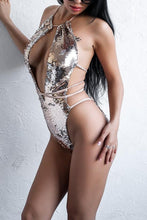 Change Me - bling out sequin bodysuit swimsuit