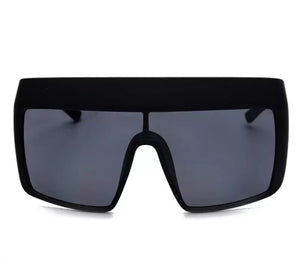 Ski - oversized big square sunglasses