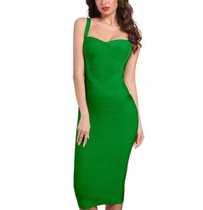 Celebrity - Bandage bodycon dress