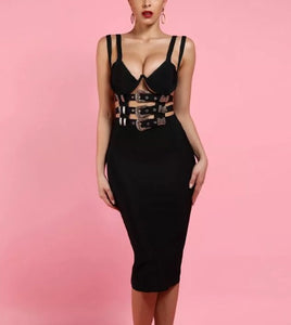 Time out - bandage bodycon dress