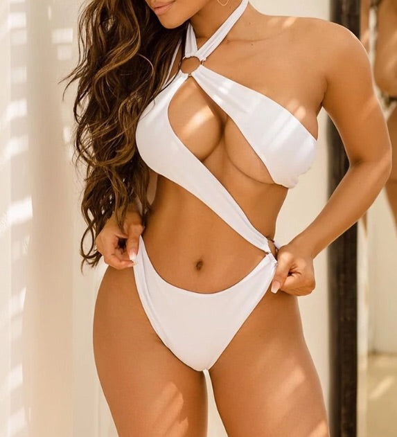Kitty - monokini sexy hollow out 1 piece swimsuit