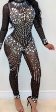 Party girl - blingout sexy jumpsuit