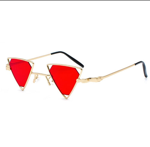 Try - triangle mini sunglasses