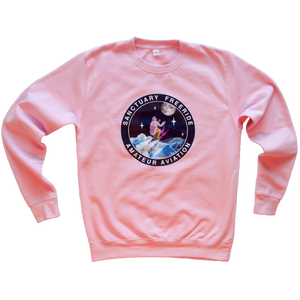 Amateur Aviation Pink Sweatshirt