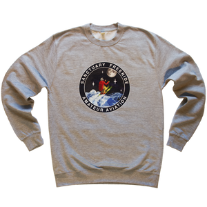 Amateur Aviation Grey Sweatshirt
