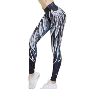 High Waist Wing Leggings