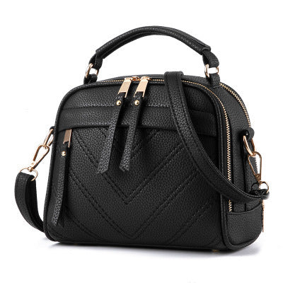 TILE BACK SHOULDER BAG