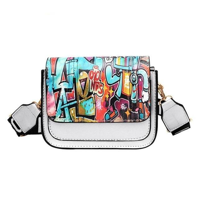 GRAFFITI SOUL SHOULDER BAG