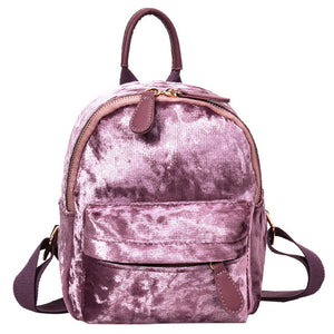 VELOUR BACKPACK