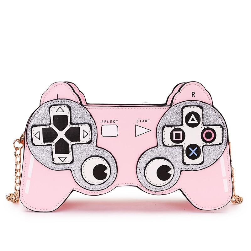 GAME GIRL SHOULDER BAG