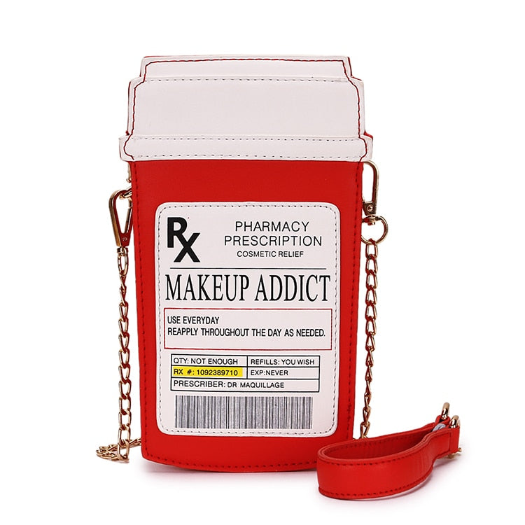 MAKEUP ADDICTION SHOULDER BAG
