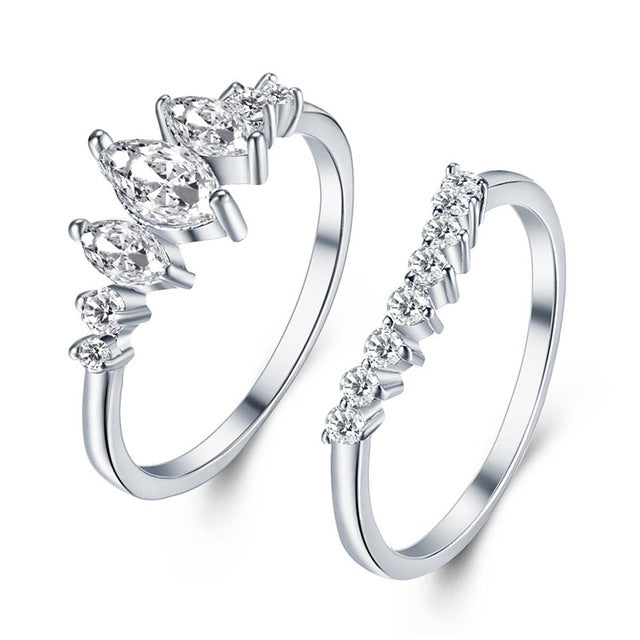 HOLIDAY LOVE RING SET