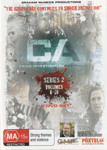 CA Crime Investigation Australia - Series 2 (Volume 6-10)