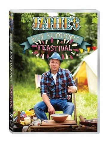 Jamie Oliver - Jamie's Big Summer Feastival DVD [New/Sealed]