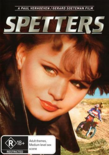 Spetters - DVD New/Sealed RARE OOP Paul Van Herhhoeven