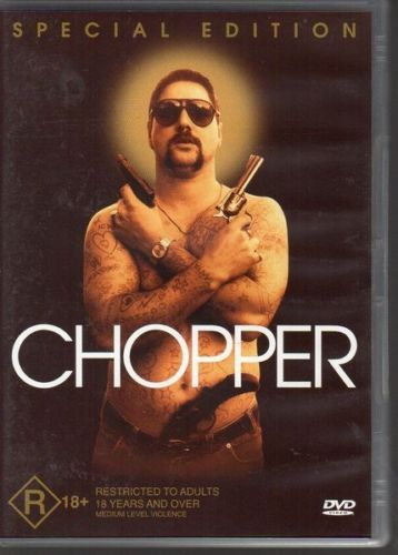 Chopper - DVD [New/Sealed] Eric Bana