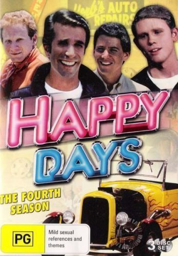 Happy Days - Season 4 DVD [New/Sealed]