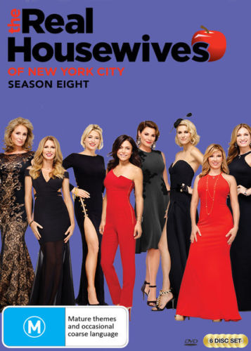 Real Housewives of New York - Season 8 DVD [New/Sealed]