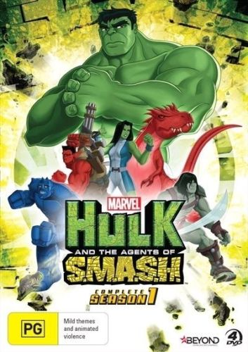 Hulk and the Agent's of SMASH - Complete Season 1 DVD [UK Compatible] New Sealed