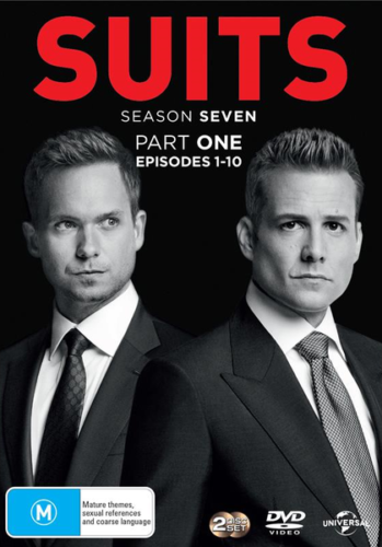 Suits - Season 7 Part 1 DVD