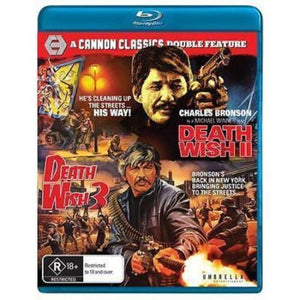 Death Wish 2 / Death Wish 3 [Cannon Classics] Blu-Ray