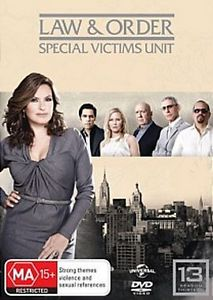 Law and Order: Special Victims Unit - Season 13 (6 Discs) DVD