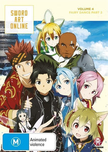 Sword Art Online | Volume 4 | Fairy Dance Part 2 | Episodes 20-25