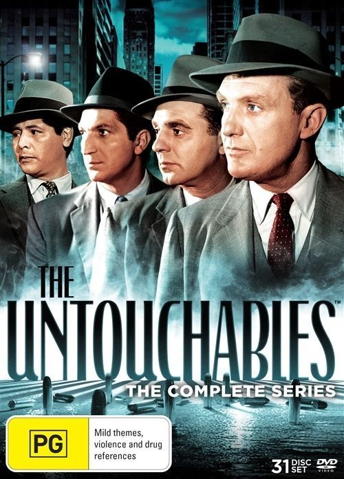 The Untouchables: The Complete Series DVD