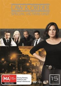 Law and Order: Special Victims Unit - Season 15 DVD