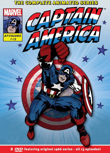 Captain America: The Complete Series DVD (Region 2)