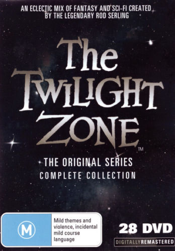 The Twilight Zone: The Complete Series  (50th Anniversary Box Set) DVD