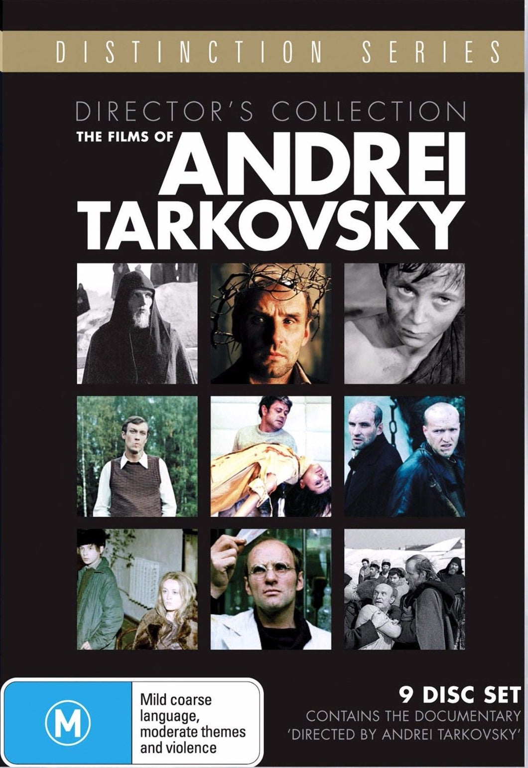 The Films of Andrei Tarkovsky (Director's Collection) (Distinction Series) DVD