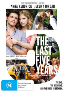THE LAST 5 YEARS DVD