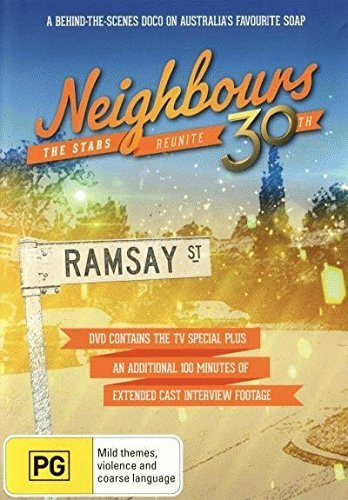NEIGHBOURS - 30TH ANNIVERSARY THE STARS REUNITE DVD