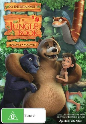 THE JUNGLE BOOK - SEASON 2 VOL 1 DVD