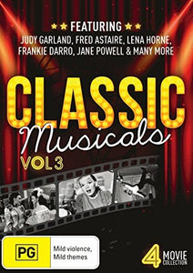 Classic Musicals: Volume 3 - Royal Wedding / Calendar Girl / Till the Clouds Roll By / Up in the Air