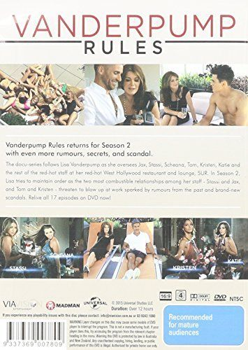 Vanderpump Rules - Season 2 DVD [Region 2 Compatible] New/Sealed