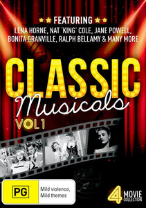 Classic Musicals: Volume 1 - Breakfast in Hollywood / The Duke is Tops / Delightfully Dangerous / All-American Co-Ed