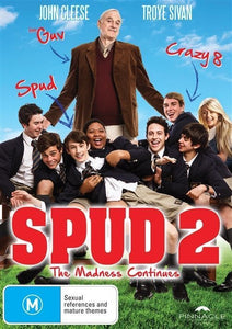 Spud 2: The Madness Continues DVD