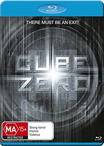 Cube Zero (Cube 3) Blu-Ray  [Region B] New/Sealed